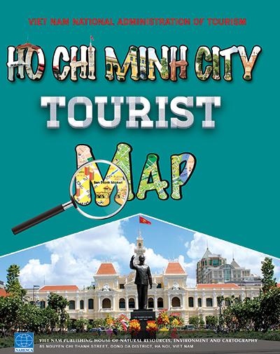 Tờ gấp bản đồ du lịch TP. Hồ Chí Minh phiên bản 2018